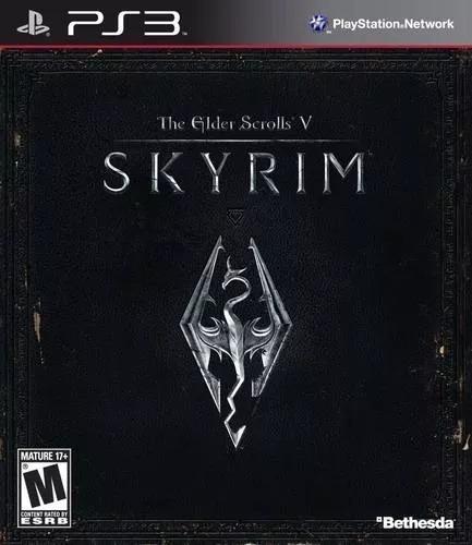 The Elder Scrolls V: Skyrim Ps3 - Mídia Fisica