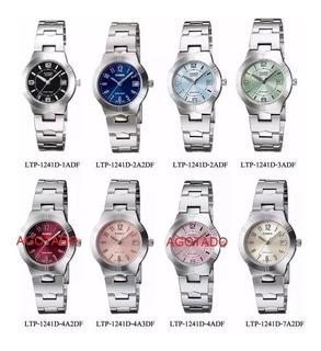 Reloj Casio Ltp-1241en Todos Los Colores Para Dama