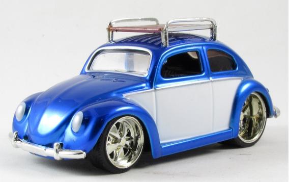 G5 Miniatura Fusca 1959 Volkswagen Beetle Jada Dub City