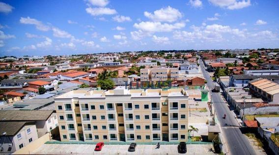 Apartamento Com 2 Dormitórios À Venda, 50 M² Por R$ 140.000,00 - Parque Guadalajara (jurema) - Caucaia/ce - Ap1040