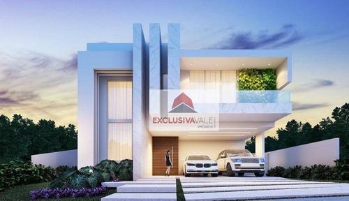 Casa Com 4 Dormitórios À Venda, 361 M² Por R$ 3.000.000,00 - Condomínio Residencial Alphaville Ii - São José Dos Campos/sp - Ca1012