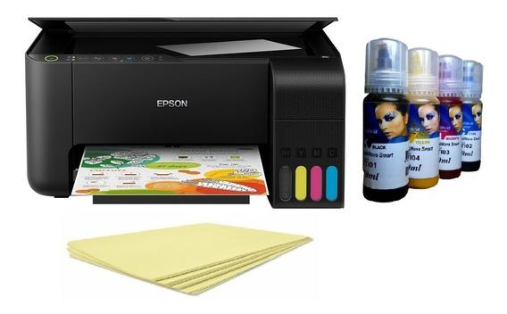 Multifuncional Epson L3150 A4 Tinta Sublimatica + 100 Folhas