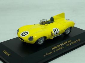 Jaguar D-type 3rd Le Mans 1955 1:43 Ixo Models- Raridade!