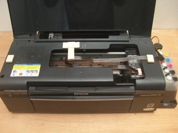 Impressora Epson Stylus Office T33 Com Bulk Ink E Chip Full