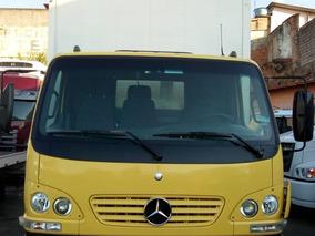 Mercedes-benz Mb Accelo 915 11/11 Amarelo Baú De 6,5 Mt Filé