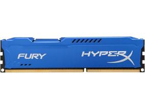 Memória Gamer Kingston 8gb 1866mhz Ddr3 Hyperx Fury Azul