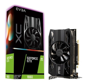 Placa De Video Evga Gtx 1660 Xc Black 6gb Ddr5 192bit