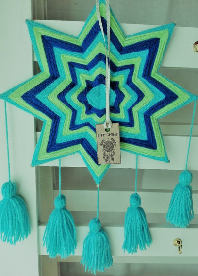 Mandalas Estrella Colgantes @creacionespaolaponcelatino