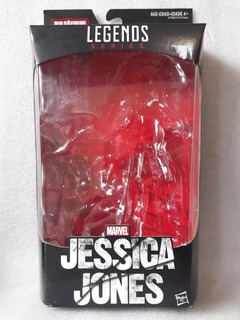 Embalagem Marvel Legends Netflix Baf Man Thing Jessica Jones
