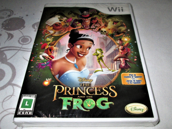 The Princess And The Frog Nintendo Wii! Super Mario! Zelda! Novo / Lacrado! Nintendo Wii Mini!
