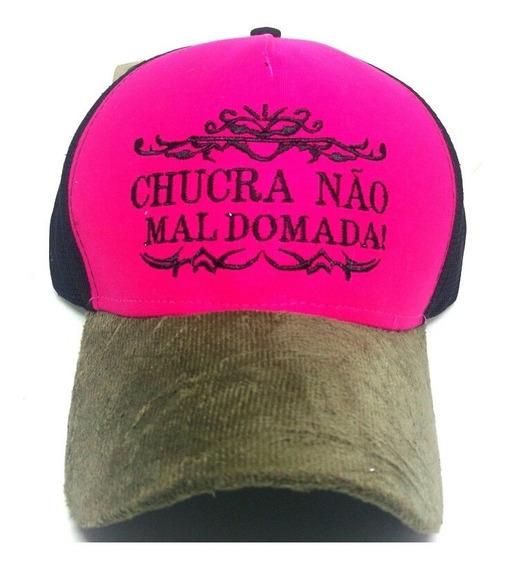 Boné Country Sertanejo (tela) Frases Caipira Só R$18.99