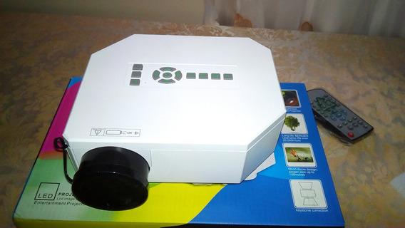 Mini Projetor Uc30 Led Av Sd Usb Vga Micro Usb Hdmi