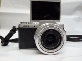 Camera Panasonic Lumix Mirrorles Gf7 Semi-nova C/lente