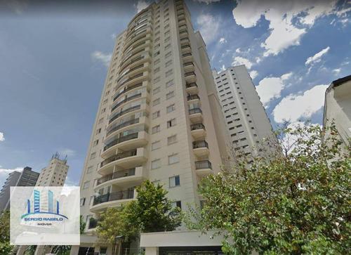 Apartamento Com 3 Dormitórios À Venda, 100 M² Por R$ 1.590.000,00 - Moema - São Paulo/sp - Ap3307