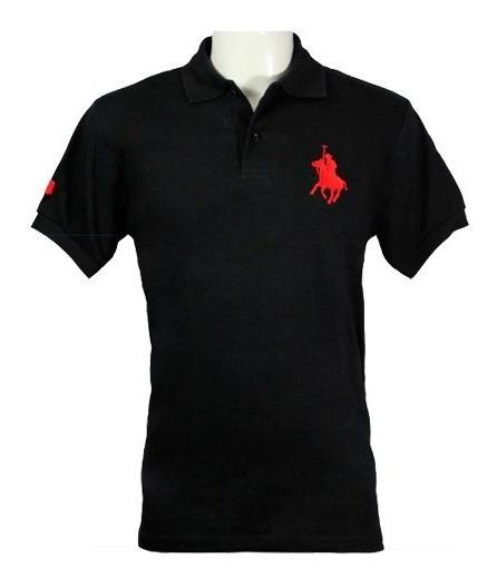 Playera Polo Club, 3 Piezas Para Caballero En Caballo Grande