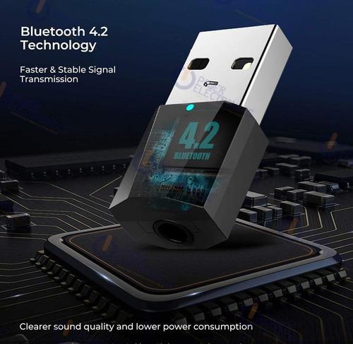 Adaptador Usb Audio Bluetooth 2 En 1 Receptor - Emisor
