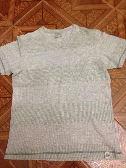 Camiseta Masculina Hering Cinza Tamanho P