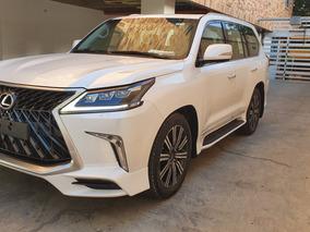 2018 Lexus Lx570 Super Sport Motor 5.7 Blanco 5 Puertas