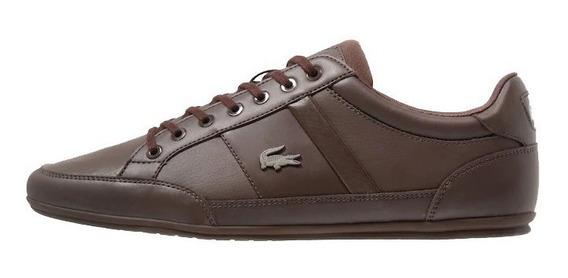 Tenis Zapatos Lacoste Chaymon Cuero - New
