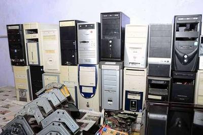 Serviço De Lixo Eletrônico E Descartes Eletrônicos.