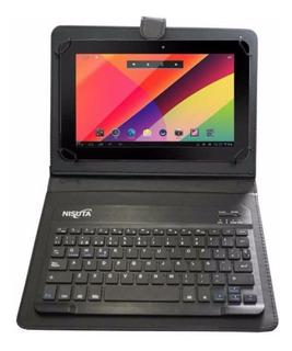 Funda Teclado Bluetooth Universal Para Tablet 9 10 Pulgadas