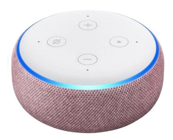 Echo Dot Amazon Smart Speaker Alexa 3 Geração Português Nf-e