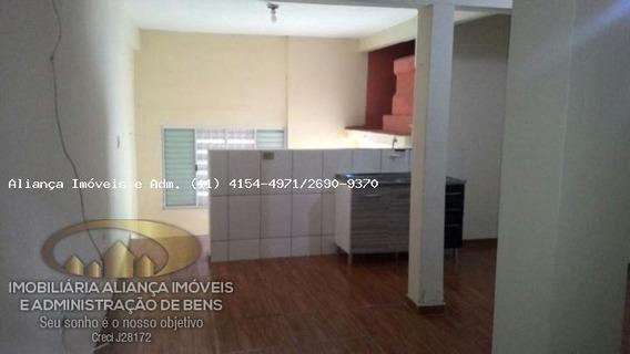 Casa Para Locação Em Santana De Parnaíba, Jardim Professor Benoa, 1 Banheiro - 3062_2-455095