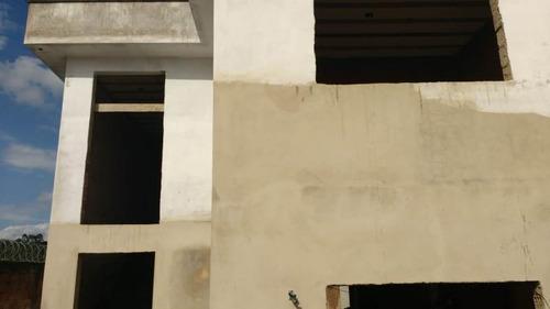 Casa Em Construção Em Lote De 750 M² No Bairro Ouro Branco. - 1623