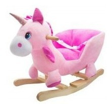 Silla Mecedor Unicornio Peluche Bebe Cresko 446u