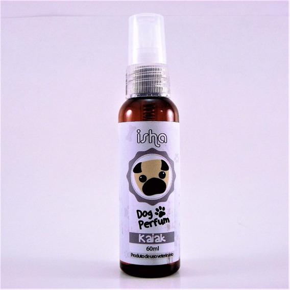 Perfume Pet Isha Cachorro Réplica Aroma Masculino Kaiak 60ml