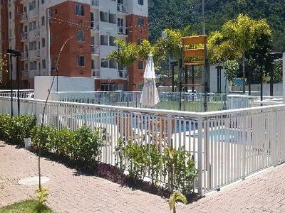 Barra Da Tijuca, Village Vip, Apto 2 Quartos Com Lazer - Ap00235