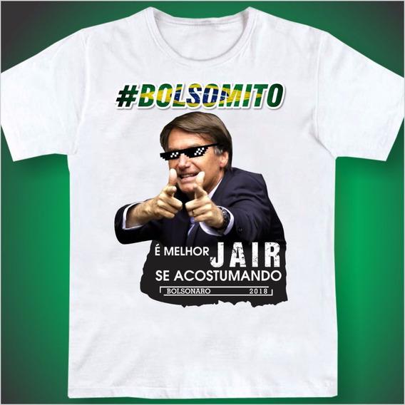 Kit 2 Camisas Camiseta Jair Bolsonaro 17 Promoção