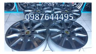 4 Aros Nuevos R18 Porsche Originales Made In Germany 130mm