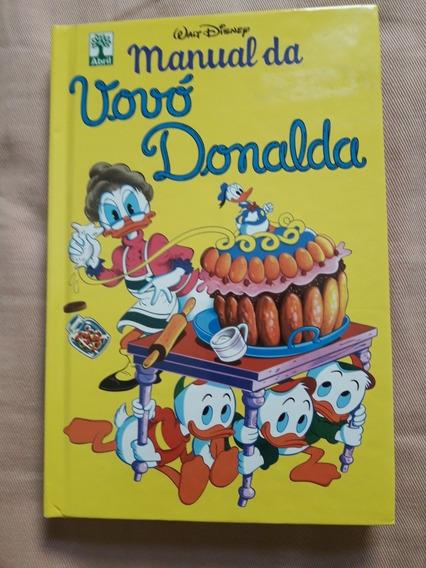 Livro Manual Da Vovó Donalda - Usado