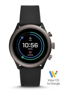 Fossil Sport Ftw4019 Smartwatch Silicone Reloj Hombre 43mm