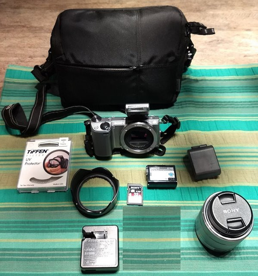 Câmera Digital Semi Profissional Sony Modelo Nex-5r 16.1 Mpx