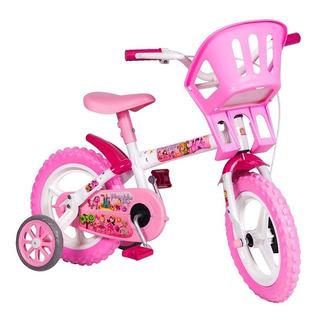 Bicicleta Infantil Aro 12 Princesinhas De 3 A 5 Anos - Styll
