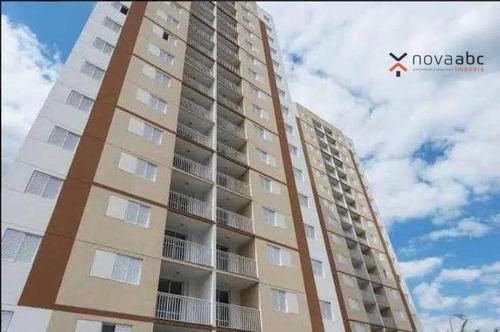 Imagem 1 de 12 de Apartamento À Venda, 64 M² Por R$ 405.000,00 - Campestre - Santo André/sp - Ap1600