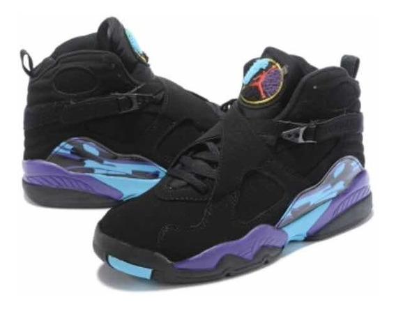 Tenis Air Jordan 8 Retrô Blue