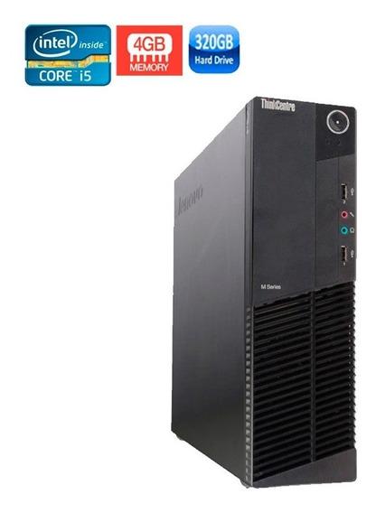Pc Lenovo M92p Intel I5 3ºgeração 4gb Hd 320gb + Wi-fi