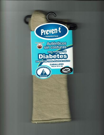 Calcetines Preven-t Caballero Pie Diabetico, Corto Afelpado