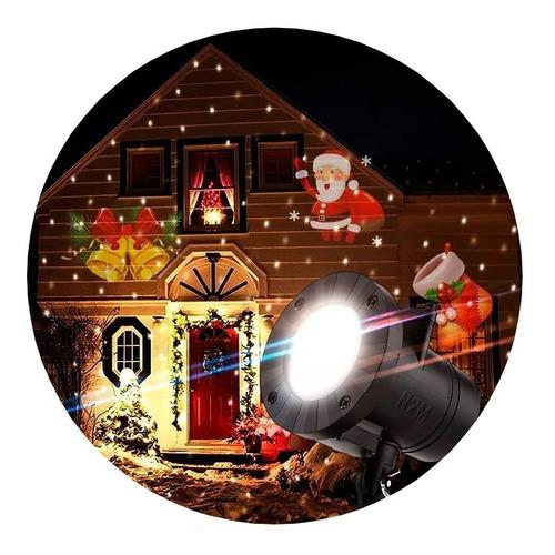 Imagen 1 de 10 de Laser Led Proyector Jardin 6 Fotos Navidad Fiestas Cuotas