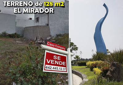 Se Vende Terreno De 128 M2 En El Mirador, Libre De Gravamen, Plano, Oportunidad