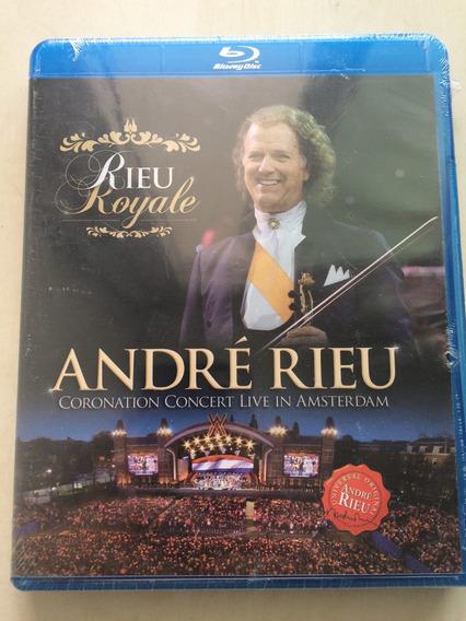Blu Ray André Rieu Royale/ Live In Amsterdam/ Lacre De Fabri
