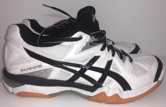 Zapatillas Asics Voley Gel Tactic Mujer Talle 7 24cm 1 Uso