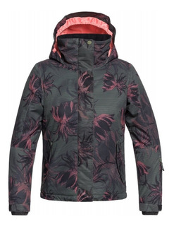 Campera Nena Roxy Jetty Kvj5 Ski Snow Urbano