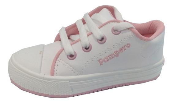 Zapatillas Escolares Cuero Marca Pampero Modelo Ale