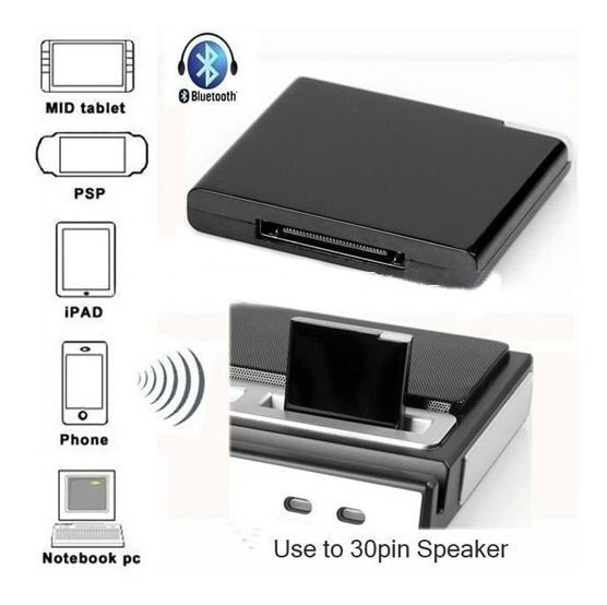 Adaptador Bluetooth 30 Pinos Dock Station Bose iPhone