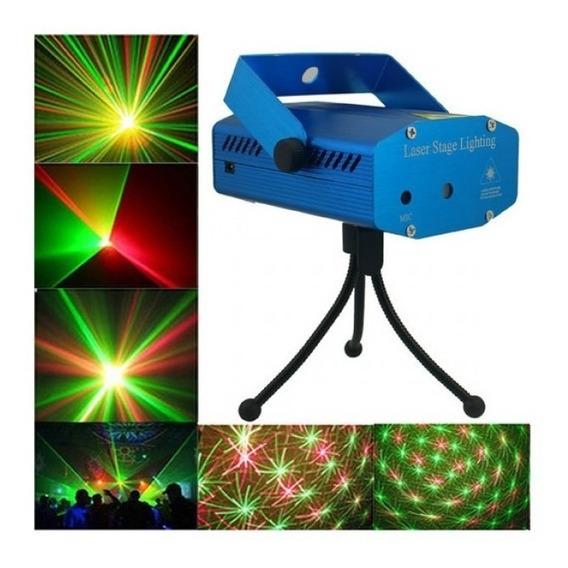 Mini Laser Projetor Para Festa ,laser Verde E Vermelho Lk173