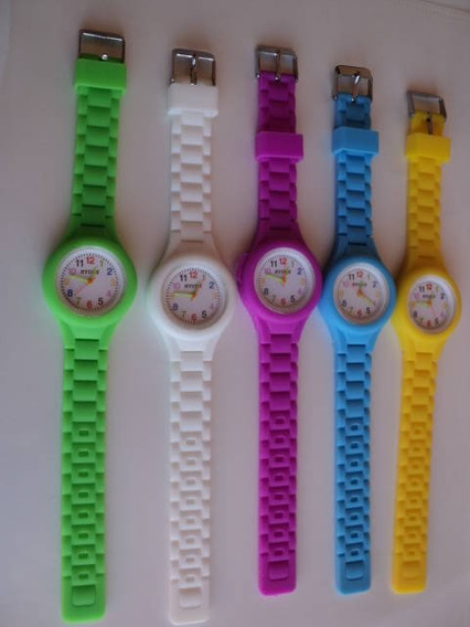 5 Relógios Esportivo, Unisex, Silicone, 150,00+ Frete Grátis